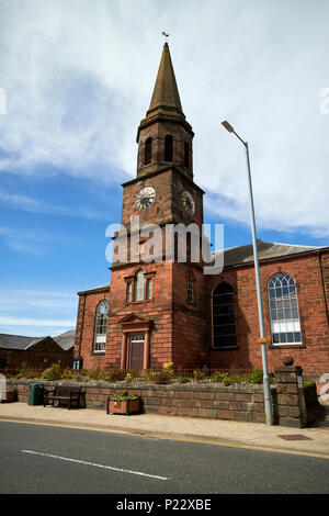 Annan Church of Scotland old parish church Dumfries and Galloway Scotland UK - Stock Photo