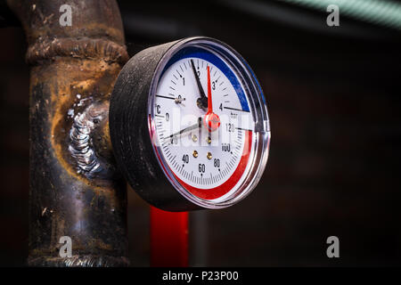Close-up of central heating pipes Stock Photo: 57230869 - Alamy