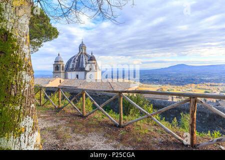 Basilica of Santa Margherita in Montefiascone, Viterbo province, Lazio, Italy - Stock Photo
