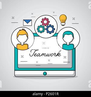 people teamwork concept - Stock Photo