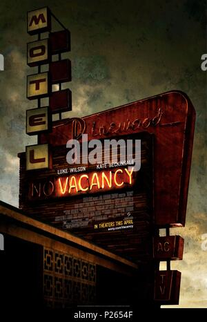 Original Film Title: VACANCY.  English Title: VACANCY.  Film Director: NIMROD ANTAL.  Year: 2007. Credit: HAL LIEBERMAN COMPANY/SCREEN GEMS / Album - Stock Photo