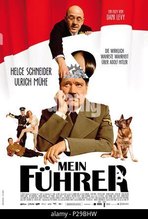 Original Film Title: MEIN FUHRER-DIE WIRKLICH WAHRSTE WAHRHEIT UBER ADOLF HITLER.  English Title: MEIN FUHRER-THE TRULY TRUEST TRUTH ABOUT ADOLF HITLER.  Film Director: DANI LEVY.  Year: 2007. Credit: BAYERISCHER RUNDFUNK / Album - Stock Photo