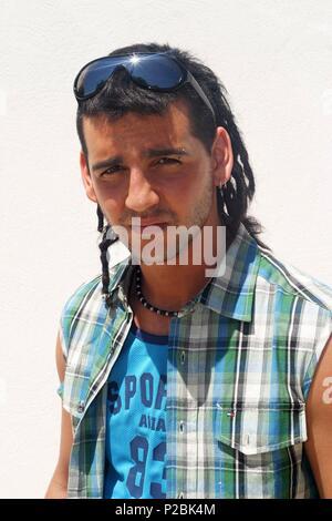 El cantante y actor español Fran Perea. (ATT59108). - Stock Photo