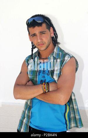 El cantante y actor español Fran Perea. (ATT59109). - Stock Photo