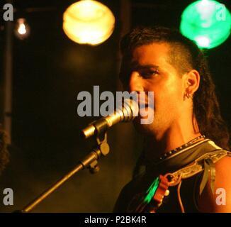 El cantante y actor español Fran Perea. (ATT59126). - Stock Photo