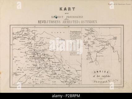 kart over himalaya Kart over Nordvest Provindserne eller Revolutionens Arnested i  kart over himalaya