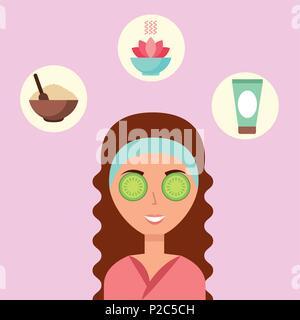 woman spa wellness - Stock Photo