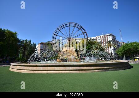 Jardín del Salitre, Murcia, Spain - Stock Photo