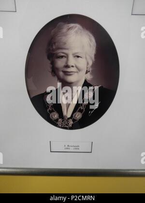 . June Rowlands, Mayor of Toronto, Ontario, Canada (1991-1994) . 8 March 2012, 14:20. HiMY SYeD from Toronto, Canada 28 June Rowlands, Mayor of Toronto Ontario Canada, 1991-1994 (6822358178) - Stock Photo