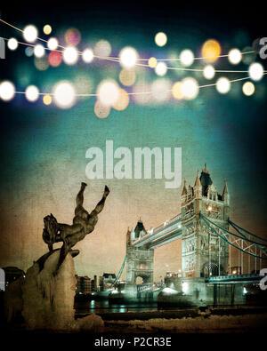 DIGITAL ART: A London Christmas