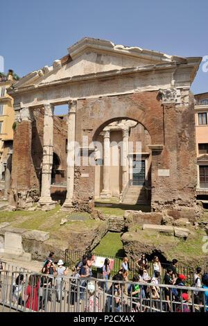 italy, rome, portico d'ottavia - Stock Photo