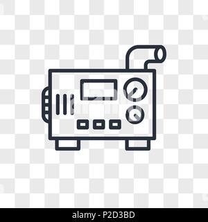 diesel generator icon electrical maintenance diesel generator vector icon isolated on transparent background logo concept stock photo white