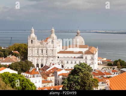 The Monastery of Saint Vincent Outside the Walls in Lisbon, Portugal.z - Stock Photo
