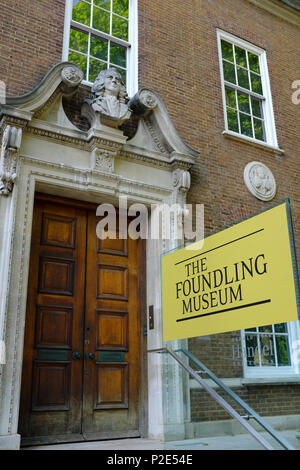 The Foundling Museum, London, England, UK - Stock Photo