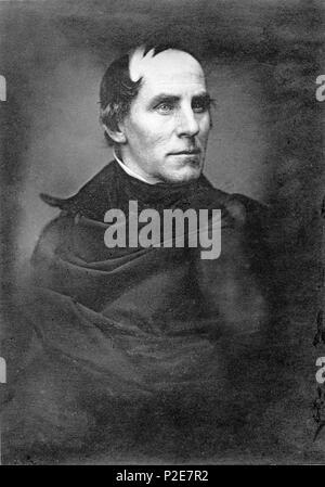 Thomas Cole (1801 – 1848) English born American painter - Stock Photo