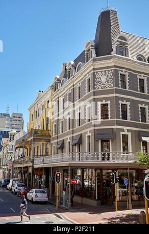 Cape town city centre business district - Stock Photo