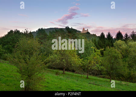 Berwartstein castle, near Erlenbach, Dahner Felsenland, Palatinate Forest nature park, Rhineland-Palatinate, Germany - Stock Photo