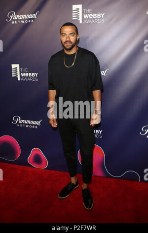 The 22nd Annual Webby Awards, hosted by comedian Amber Ruffin Held at Held at Cipriani Wall Street  Featuring: JESSE WILLIAMS Where: New York, New York, United States When: 14 May 2018 Credit: Derrick Salters/WENN.com - Stock Photo