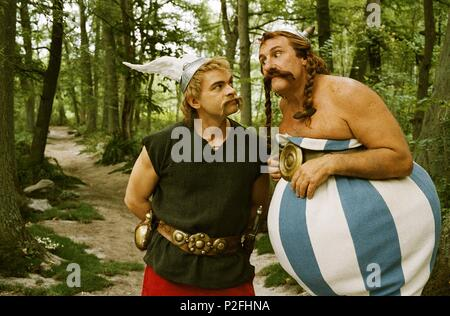 Original Film Title: ASTÉRIX AUX JEUX OLYMPIQUES.  English Title: ASTÉRIX AUX JEUX OLYMPIQUES.  Film Director: FREDERIC FORESTIER; THOMAS LANGMANN.  Year: 2008.  Stars: GERARD DEPARDIEU; CLOVIS CORNILLAC. Credit: PATHE RENN PRODUCTIONS/LA PETITE REINE/TF1 FILMS PROD./TRIPI / Album - Stock Photo