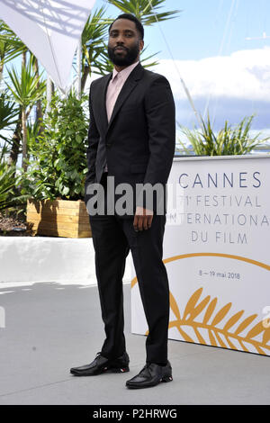 71st Annual Cannes Film Festival - 'BlacKkKlansman' - Premiere  Featuring: John David Washington Where: Cannes, France When: 15 May 2018 Credit: IPA/WENN.com  **Only available for publication in UK, USA, Germany, Austria, Switzerland** - Stock Photo