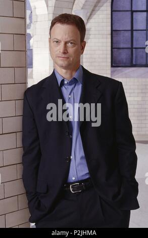 Original Film Title: CSI: NY-TV.  English Title: CSI: NY.  Year: 2004.  Stars: GARY SINISE. Credit: ALLIANCE ATLANTIS COMMUNICATIONS/ALLIANCE ATLANTIS MOTION / Album - Stock Photo