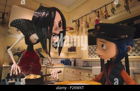 Original Film Title: CORALINE.  English Title: CORALINE.  Film Director: HENRY SELICK.  Year: 2009. Credit: LAIKA ENTERTAINMENT / Album - Stock Photo