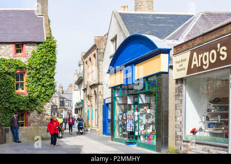 Albert Street, Kirkwall, Mainland, Orkney Islands, Northern Isles, Scotland, United Kingdom - Stock Photo