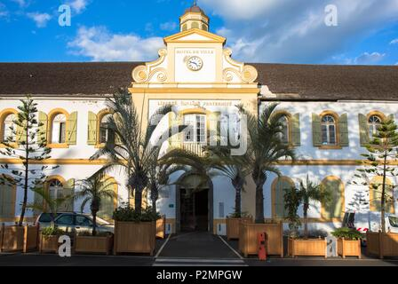 France, Reunion island (French overseas department), Saint Louis, City Hall - Stock Photo