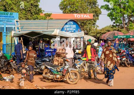 Burkina Faso, Hauts-Bassins region, Bobo-Dioulasso - Stock Photo