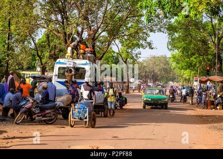 Burkina Faso, Hauts-Bassins region, Bobo-Dioulasso - Stock Photo