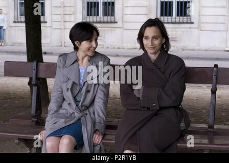 Original Film Title: IL Y A LONGTEMPS QUE JE T'AIME.  English Title: I'VE LOVED YOU SO LONG.  Film Director: PHILIPPE CLAUDEL.  Year: 2008.  Stars: KRISTIN SCOTT THOMAS; ELSA ZYLBERSTEIN. Credit: UGC YM / VALLETOUX, THIERRY / Album - Stock Photo