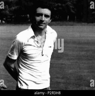 . Italian singer Il Guardiano del Faro . June 1975. Unknown 40 Il Guardiano del Faro - Stock Photo