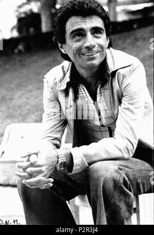 . Italian singer Il Guardiano del Faro . July 1975. Unknown 40 Il Guardiano del Faro 2 - Stock Photo