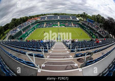 Edgbaston Priory Club, Birmingham, UK. 16th June, 2018. Nature Valley Classic Tennis; Centre Court Credit: Action Plus Sports/Alamy Live News - Stock Photo