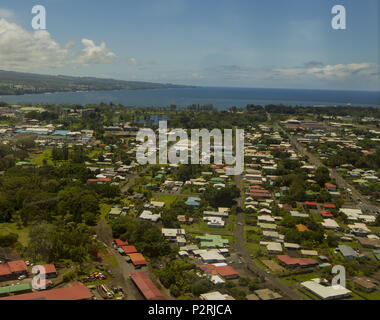 Pahoa, Hawaii, USA. 6th June, 2018. All things in Hilo continue on as usual while the lower east rift zone eruption continues on Wednesday, June 6, 2018, in Pahoa, Hawaii. Photo by L.E. Baskow/LeftEyeImages Credit: L.E. Baskow/ZUMA Wire/Alamy Live News - Stock Photo