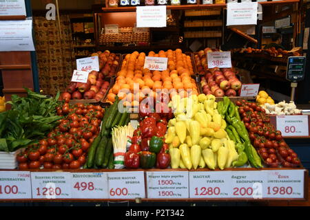 Central Market, Budapest - Stock Photo