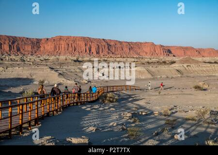 Argentina, San Juan province, Parque Ischigualasto listed as World Heritage by UNESCO, Dr William Sill museum - Stock Photo