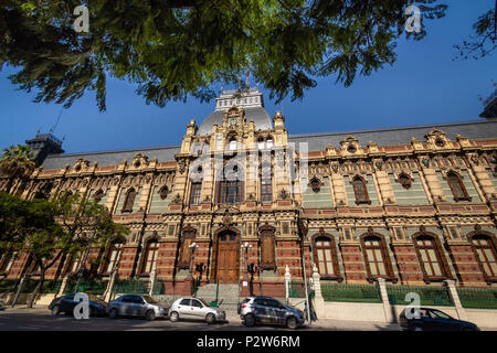 Palacio de las Aguas Corrientes , Water Company Palace - Buenos Aires, Argentina - Stock Photo