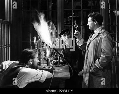 Original Film Title: EDISON, THE MAN.  English Title: EDISON, THE MAN.  Film Director: CLARENCE BROWN.  Year: 1940.  Stars: SPENCER TRACY. Credit: M.G.M / Album - Stock Photo