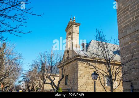 Chapel. San Lorenzo del Escorial, Madrid province, Spain. - Stock Photo