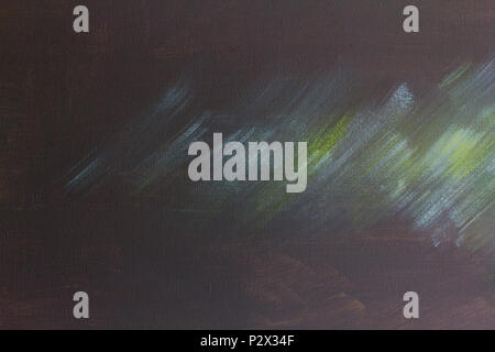 Abstract color modern art background with oil painting on canvas, brushstrokes of paint oil color contemporary art. - Stock Photo