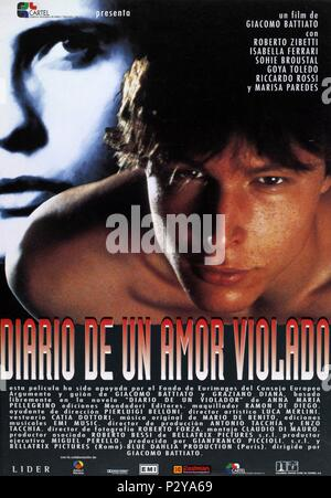 Original Film Title: CRONACA DI UN AMORE VIOLATO.  English Title: DIARY OF A RAPIST.  Film Director: GIACOMO BATTIATO.  Year: 1996. Credit: BLUE DAHLIA PRODUCTIONS / Album - Stock Photo