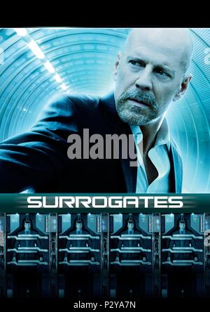 Original Film Title: SURROGATES.  English Title: SURROGATES.  Film Director: JONATHAN MOSTOW.  Year: 2009. Credit: TOUCHSTONE PICTURES / Album - Stock Photo