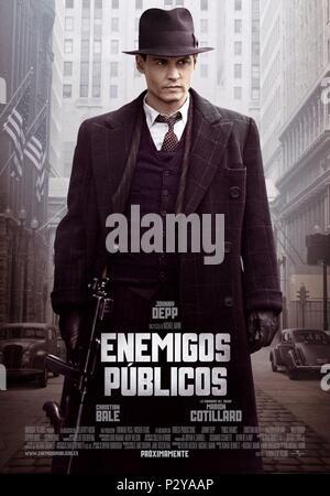 Original Film Title: PUBLIC ENEMIES.  English Title: PUBLIC ENEMIES.  Film Director: MICHAEL MANN.  Year: 2009. Credit: TRIBECA PRODUCTIONS / Album - Stock Photo