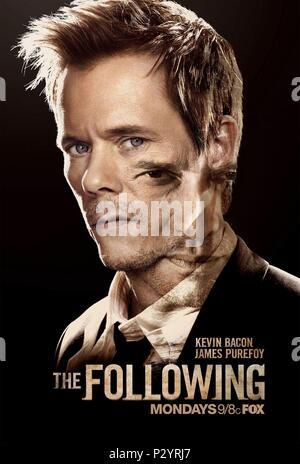 Original Film Title: THE FOLLOWING.  English Title: THE FOLLOWING.  Film Director: MARCOS SIEGA.  Year: 2013. Credit: BONANZA PRODUCTIONS / Album - Stock Photo
