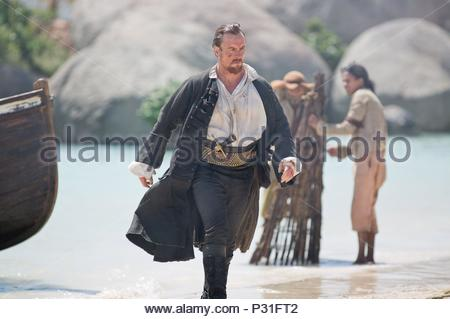 Original Film Title: BLACK SAILS.  English Title: BLACK SAILS.  Film Director: NEIL MARSHALL; SAM MILLER.  Year: 2014.  Stars: TOBY STEPHENS. Credit: PLATINUM DUNES / Album - Stock Photo
