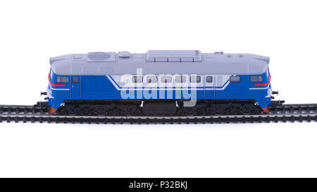 The Diesel locomotive. - Stock Photo