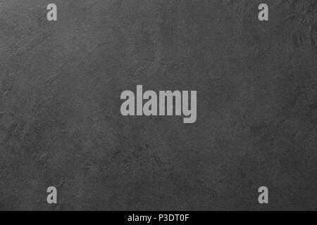 Black board or black stone background texture. Copy space for text. Design background or template - Stock Photo
