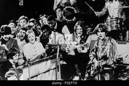 the beatles, the david frost show, london 1968 - Stock Photo