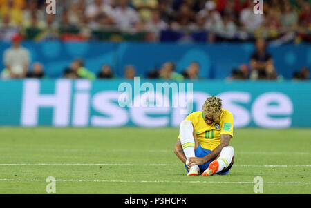 Rostov-on-Don, Russia. 17th June, 2018. Neymar (BRA) Football/Soccer : FIFA World Cup Russia 2018 Group E match between Brazil 1-1 Switzerland at Rostov Arena in Rostov-on-Don, Russia . Credit: AFLO/Alamy Live News - Stock Photo